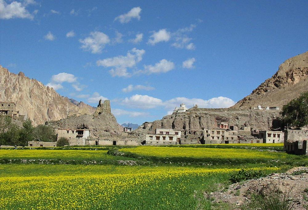 La Markha vallee historique au-coeur de Himalaya